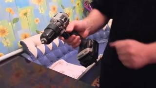 Шуруповерт с литиевым аккумулятором