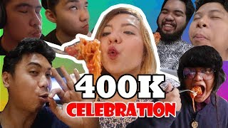 400,000 subs SPAGHETTI celebration sa CONGDO!!
