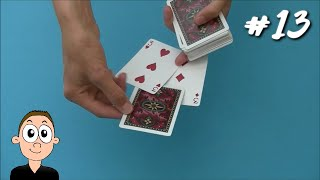 Card Trick 13: Easy Sandwich Card Trick
