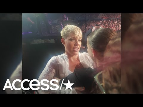 Pink Stops Concert To Comfort A Grieving Fan | Access