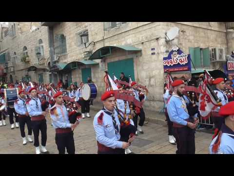 ORTHODOX ARAB UNION GROUP JERUSALEM 24 12 2016 CHRISTMAS