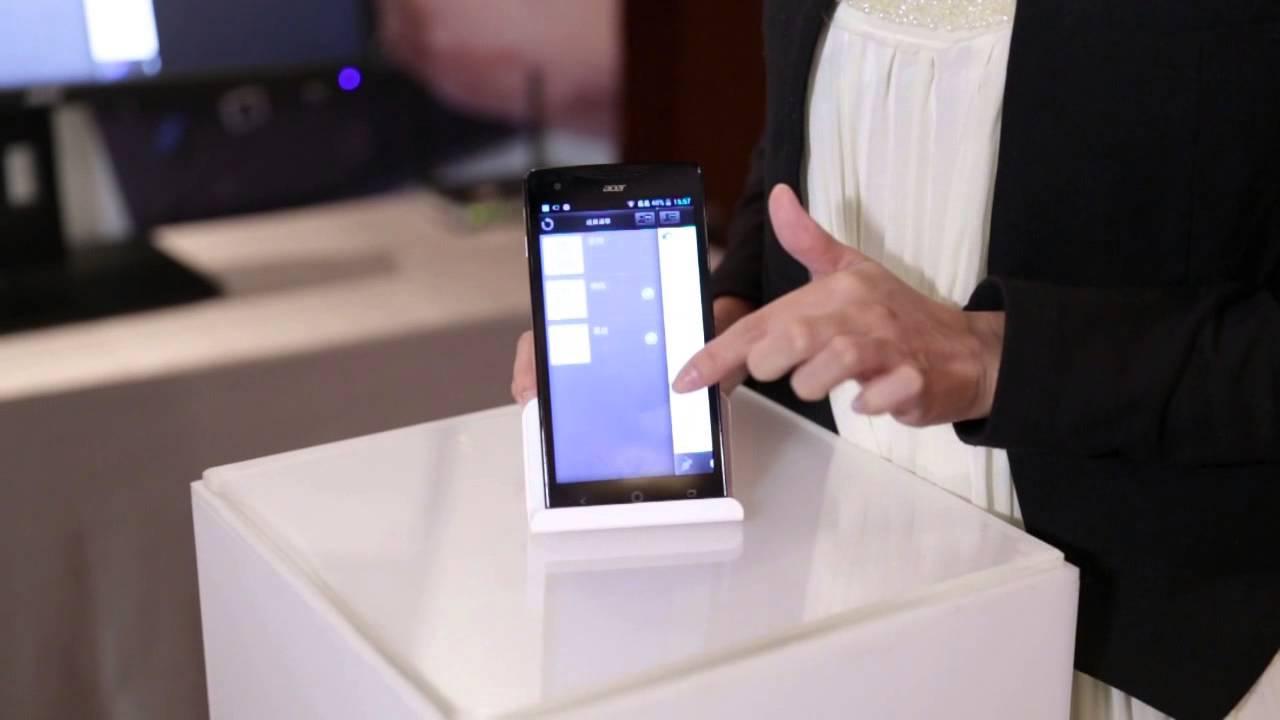 Acer王建民智慧型手機發表會直擊:數位同步白板