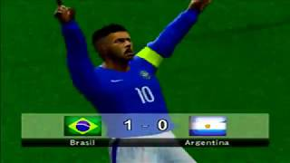 BOMBA PATCH 2018 PS2 Brasil x Argentina