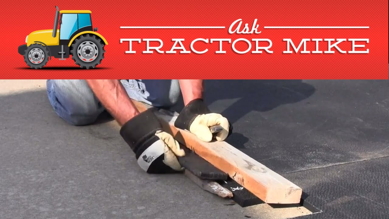 The Easiest Way To Cut Horse Stall Mats Or Exercise Mats Youtube