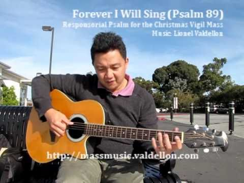Forever I Will Sing (Psalm 89) - Responsorial Psalm for Christmas Vigil Mass