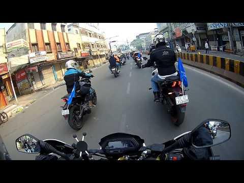 International WOMENS DAY Motorcycle Rally, Hyderabad