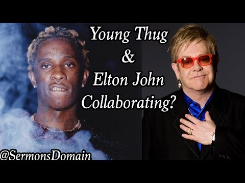 Young Thug & Elton John Are Reportedly Collaborating