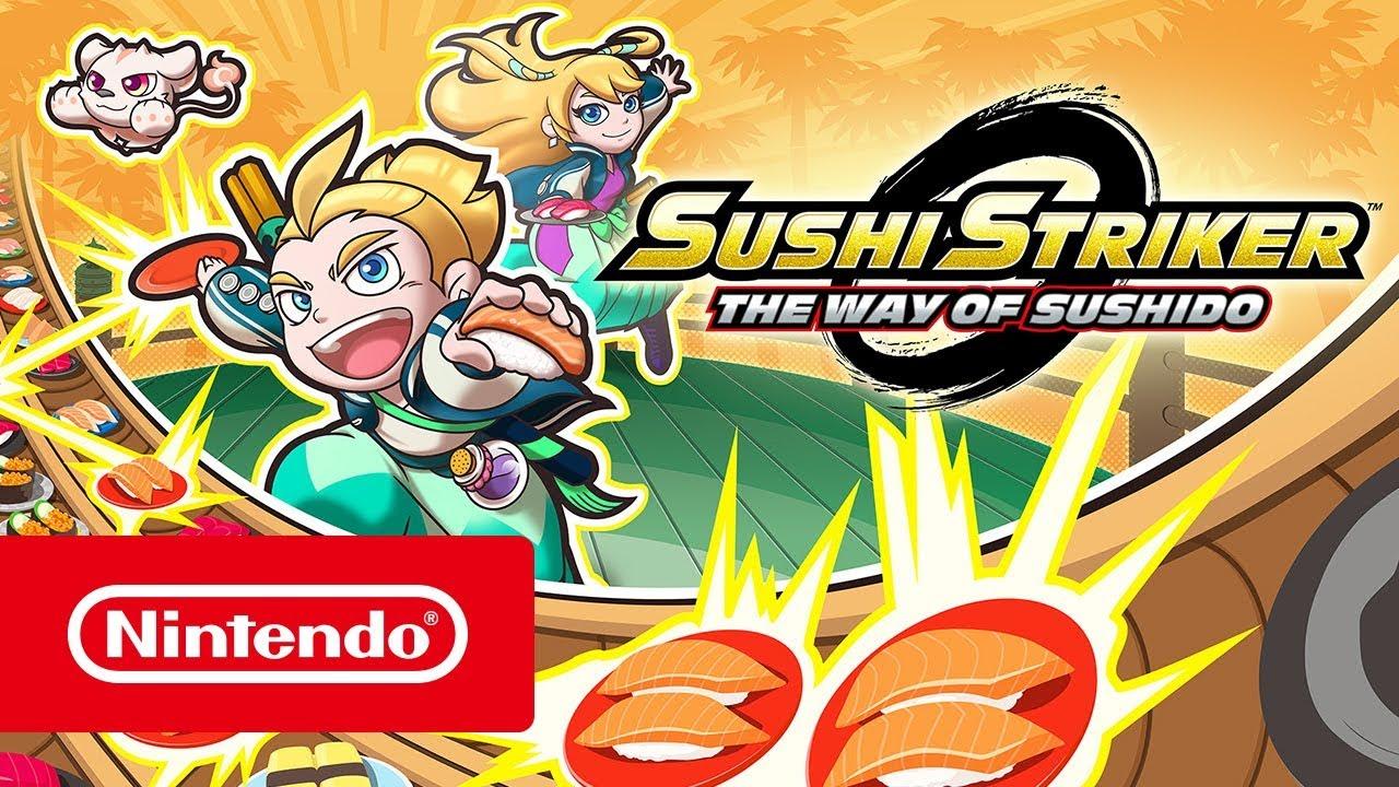Sushi Striker: The Way of Sushido – Launch Trailer (Nintendo Switch & Nintendo 3DS)