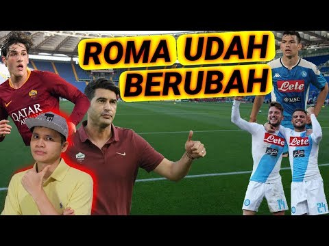 GIVEAWAY ALERT!!   PREDIKSI AS ROMA VS NAPOLI ( SERIE A ) 2019-2020