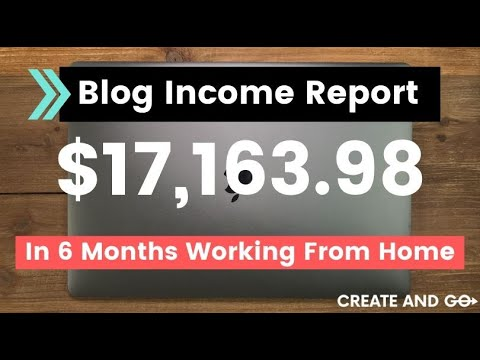 How Do Blogs Make Money? How We Made $17,163.98 Our First 6 Months