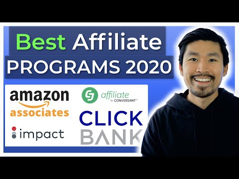The 5 BEST Affiliate Programs & Networks for Beginners (2020)