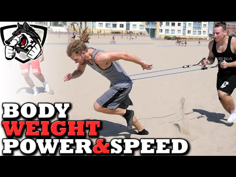 3 Bodyweight Exercises for Speed & Power (Kick Harder, Jump Higher, Run  Faster)