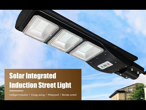 Solar Waterproof Street Light
