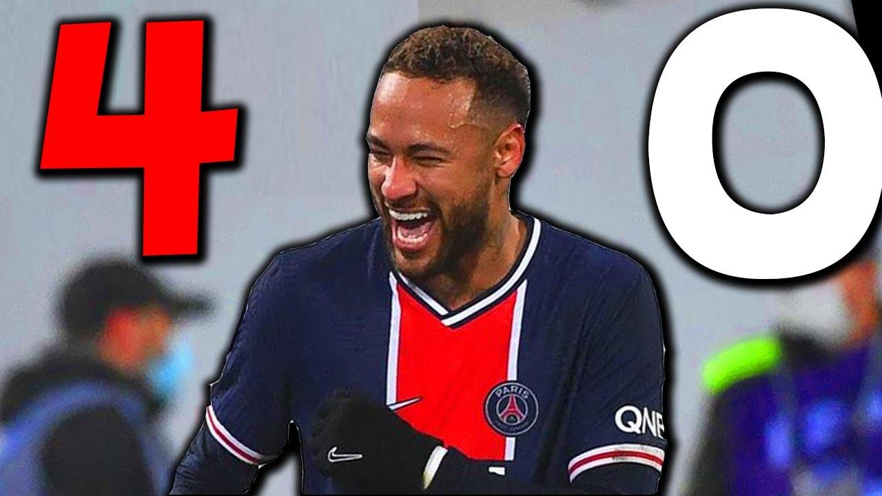 PSG Montpellier (4-0) Neymar ROI ! Mbappé DE RETOUR ! Paredes MAESTRO