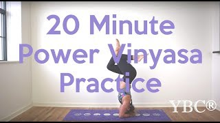 20 Minute Power Vinyasa Yoga Flow