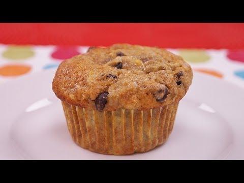 Banana Chocolate Chip Muffins Recipe: How To Make: Diane Kometa: Dishin With Di Recipe # 127