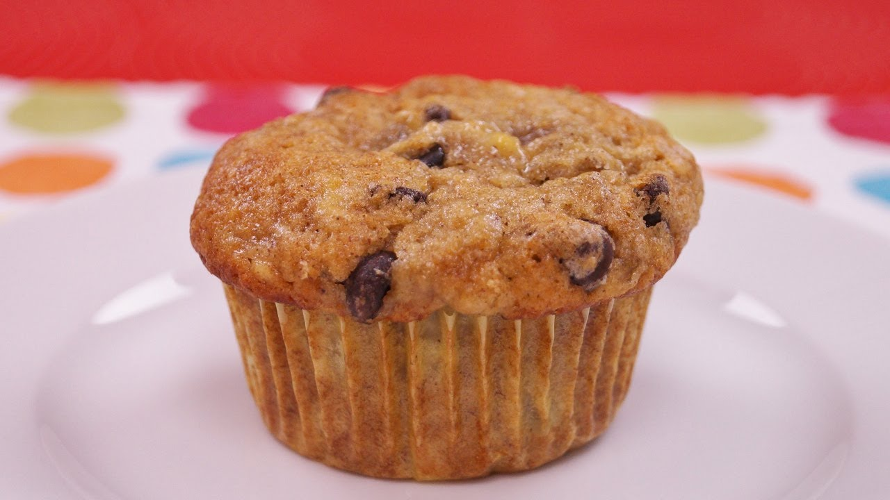 How To Make Banana Chocolate Chip Muffins From Scratch