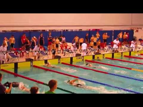 2017 Netherlands Invitational Eva Pet 100 Freestyle silver seniors