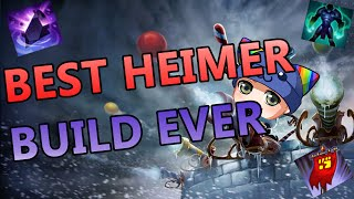 BEST HEIMERDINGER TOP BUILD - Full Gameplay Commentary