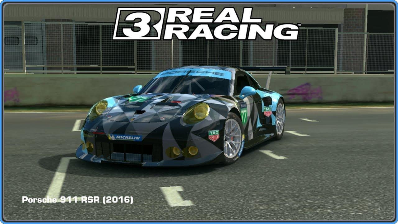 Real Racing 3: Porsche 911 RSR (2016) Auto/Car, Gameplay (HD)