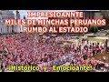 ¡Impresionante!:MÁS DE 50MIL HINCHAS PERUANOS rumbo al estadio en Saransk¡Histórico!#WorldRussia2018