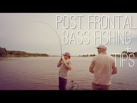 Post Frontal Bass Fishing with TIPS