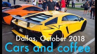 GT2RS, Widebody R8 //Cars and coffee Dallas October, 2018\\