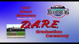 2017 Mound Elementary D.A.R.E. Graduation Ceremony