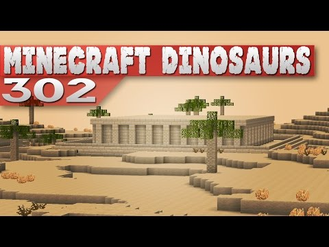 Minecraft Dinosaurs!    302    Temple in the sand