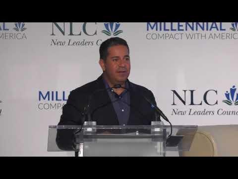 Congressman Ben Ray Luján addresses NLC