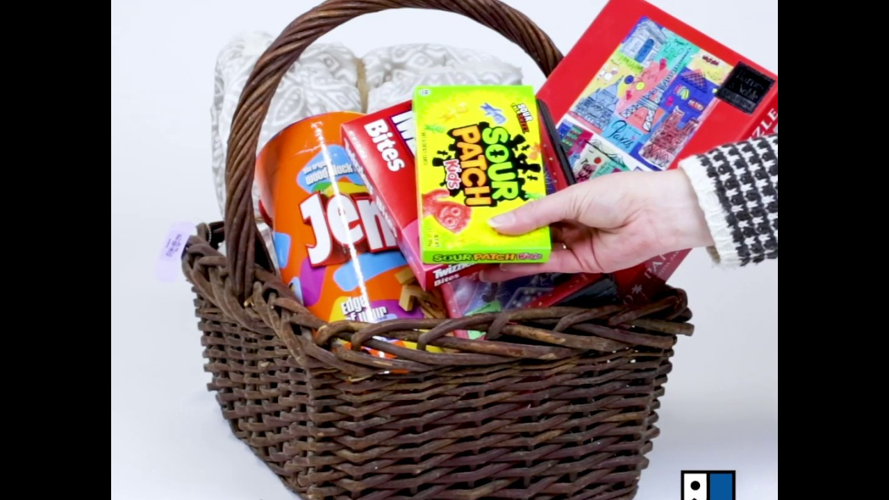GIY Family Fun Gift Basket
