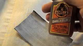 How to Patch Air Bed Leaks Busted Seams for Sleep Number® Bed Canvas Air Chambers