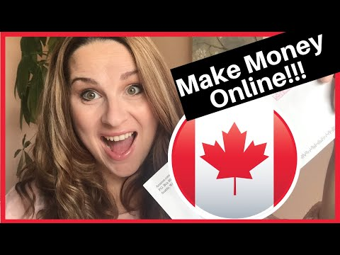 How I Make MONEY Online-Working from Home in Canada in 2019
