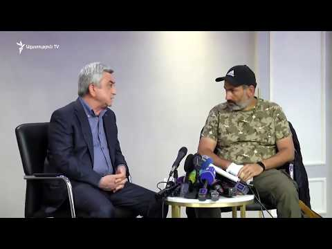 Meeting of Serzh Sargsyan and Nikol Pashinyan / 22.04.2018