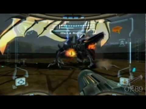 Metroid Prime (Wii) - Meta Ridley Boss Fight (Hypermode)