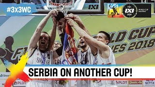 Winner's Reaction: Bulut on another World Cup for Serbia! | FIBA 3x3 World Cup 2018