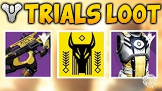 Destiny: TRIALS OF OSIRIS REWARDS! Flawless Run & Lighthouse Chest Loot (The Taken King Year 2)