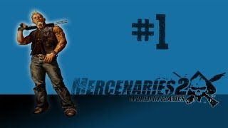 Mercenaries 2 Playthrough [PC] [HD] Part 1 - I Choose Mattias!