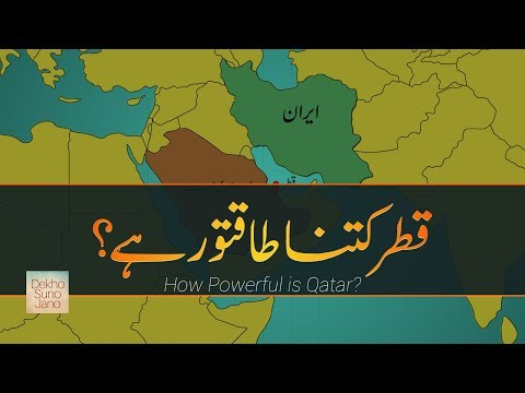 How Powerful is Qatar? | Most Powerful Nations on Earth #4 | In Urdu