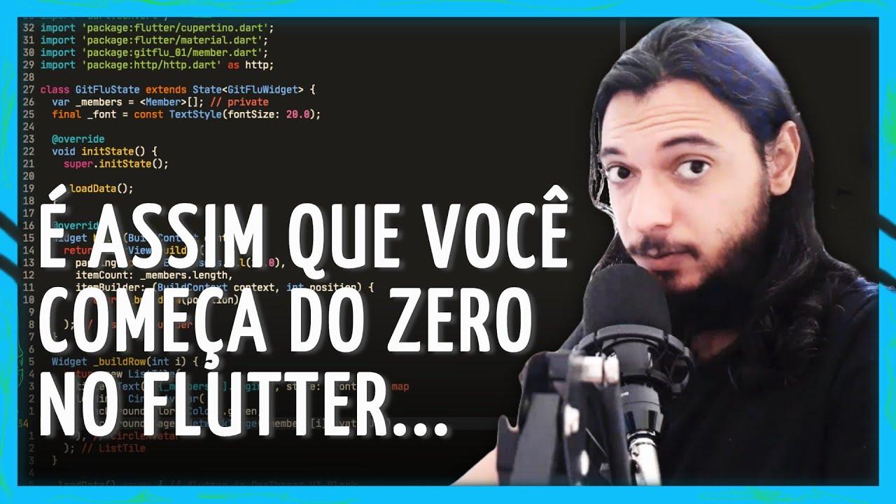 FLUTTER - COMO COMEÇAR