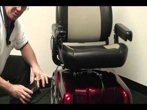 Merits Health Products P301 Gemini Power Wheelchair Product Video