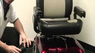 Merits Health Products - P301 Gemini Power Wheelchair Product Video