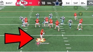 Patrick Mahomes BAZOOKA ACTIVATED! Chiefs vs Cowboys Madden 20 Online Gameplay