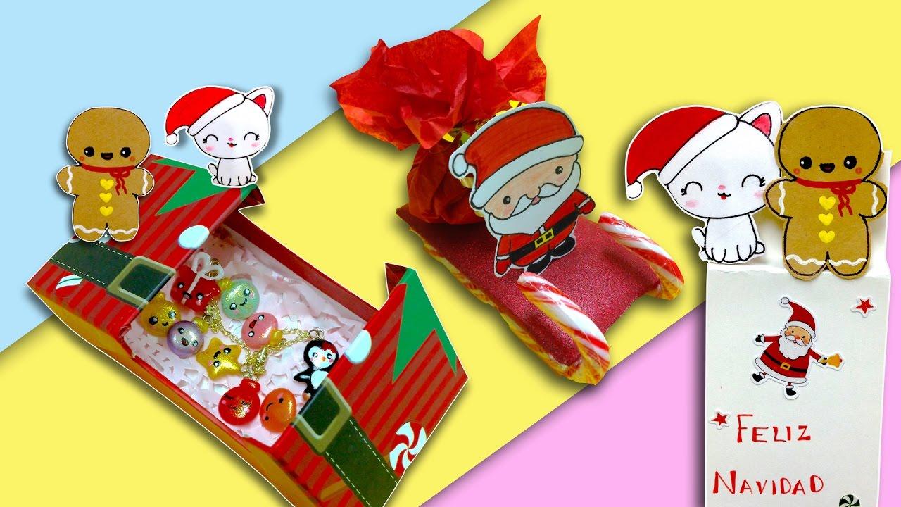Diy regalos para navidad de ultimo minuto 3 manualidades for Regalos originales de manualidades