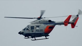 NRWspot.de|Polizeihubschrauber Hummel über Haspe im Einsatz – Personensuche