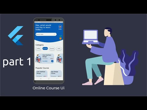 flutter-ui---online-course-design---speed-code-|-part-one-|