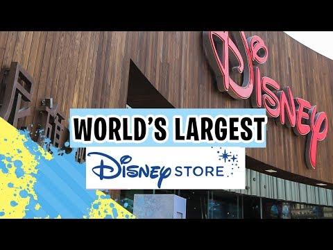 Tour of World's LARGEST Disney Store! | Shanghai Travel Vlog