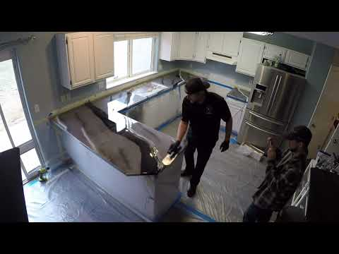 Time Lapse | Kitchen Countertop Remodel | Leggari Products