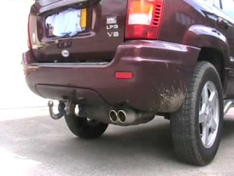 jeep grand cherokee wj 4 7 v8 exhaust sound youtube. Black Bedroom Furniture Sets. Home Design Ideas