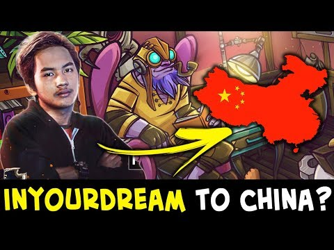 InYourDream joining Chinese pro team? Hard practicing CN servers